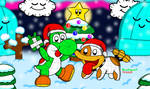 Yoshi's Woolly Christmas
