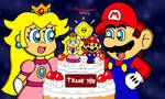 Mario and Peach's Special Cake