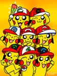 Ash Hat Pikachu Gang