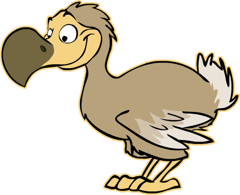 Dodo by toonmascots