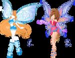 AUCTION: Believix and Enchantix design (+wings)