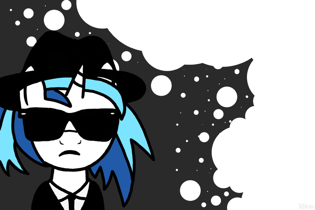 Vinyl Scratch Blues Brothers Wallpaper By DXDDash
