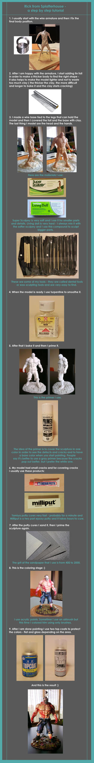 RICK - sculpting TUTORIAL by didoneto