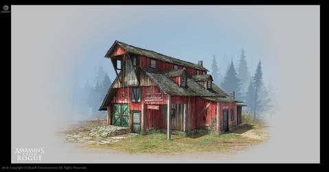 Assassin's Creed Rogue - Warehouse by didoneto