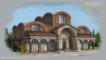 AC: Origins - Roman Bath - Exterior by didoneto