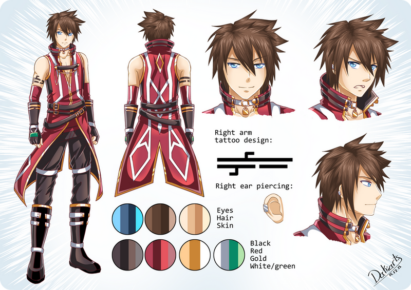Game Character Design Contest 2015 : Contest character design by dakiarts on deviantart