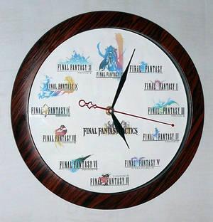 Final Fantasy Clock