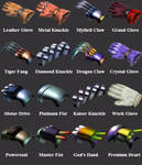 FF7 Tifa's Weapons