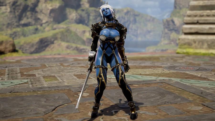 Lexa - Soul Calibur 6 - 7 by SOLDIER-Cloud-Strife