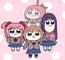 Pop Team Doki Doki by Natt-Tenshi