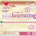 Pink Heart String