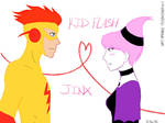 Kid Flash x Jinx