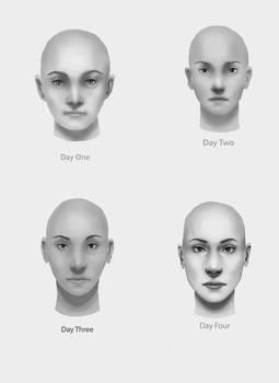 Portrait Challenge Days 1-4