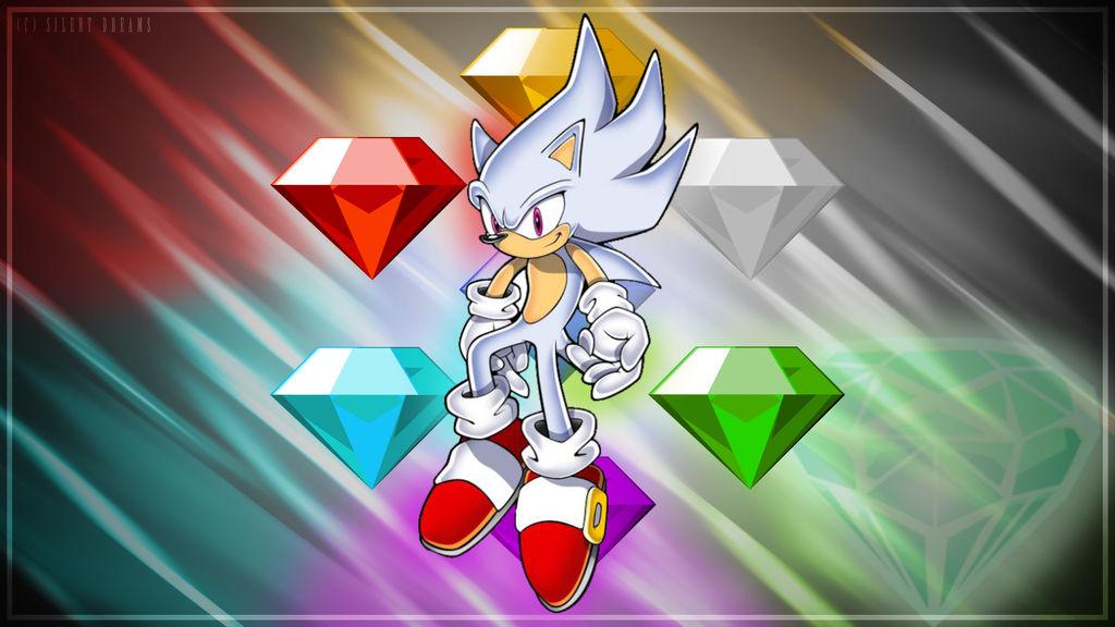 Hyper Sonic Wallpaper By Silentdreamsmax On Deviantart
