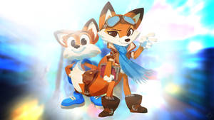 Lucky and Lyra   Super Lucky's Tale