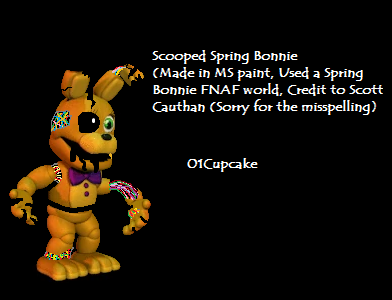 Scooped Spring bonnie by 01Cupcake