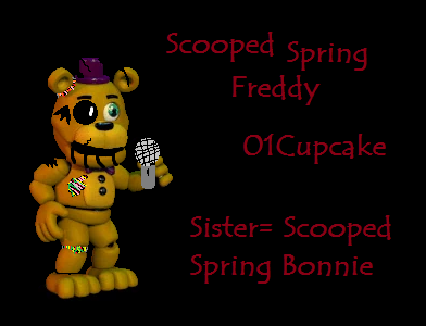 Scooped Spring Freddy by 01Cupcake