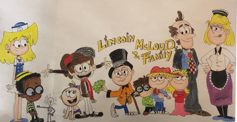 Lincoin McLoud and Family by FiremanHippie