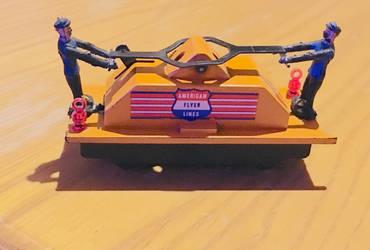 American Flyer Hand car #741 by FiremanHippie