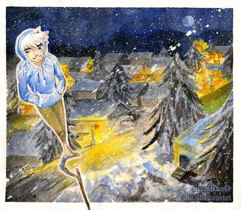 Jack Frost by Saku-Zelda