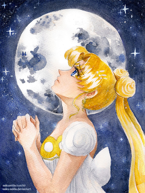 Sailor Moon - Princess Usagi by Saku-Zelda