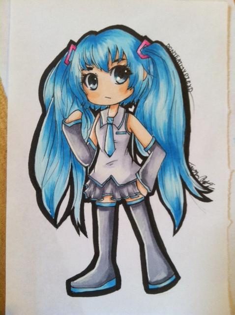 Vocaloid Chibi Fanart by DontEatMyPiexD