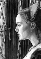 Natalie Portman as Anne Boleyn by khinson