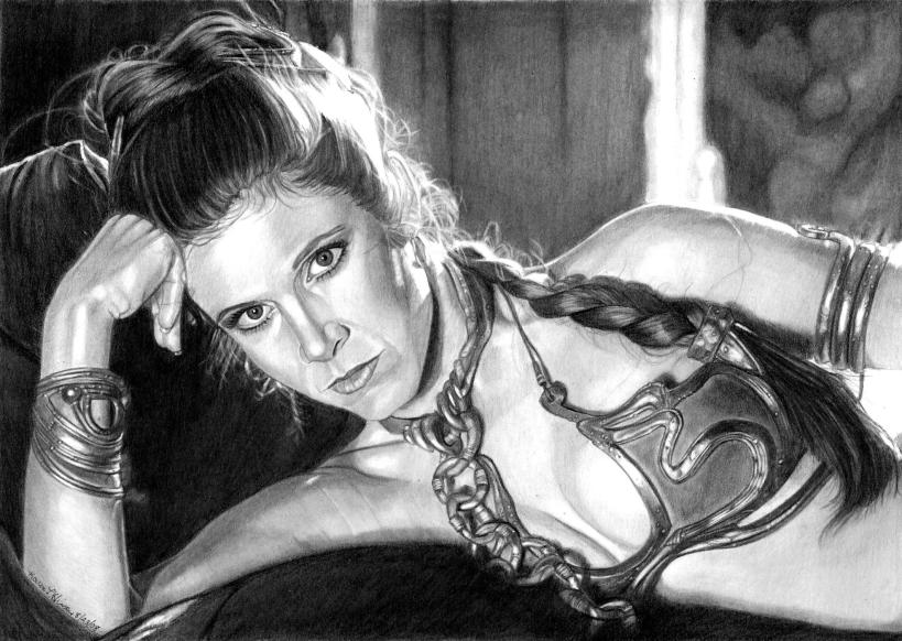 Slave Leia By Request By Khinson On DeviantArt