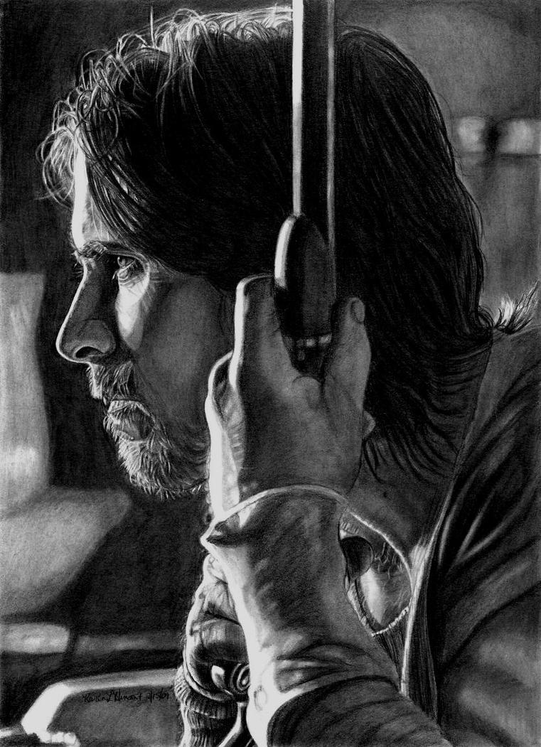 Christian Bale as Dan Evans by khinson