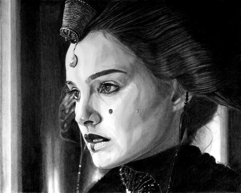 Coruscant Queen Amidala 2 by khinson