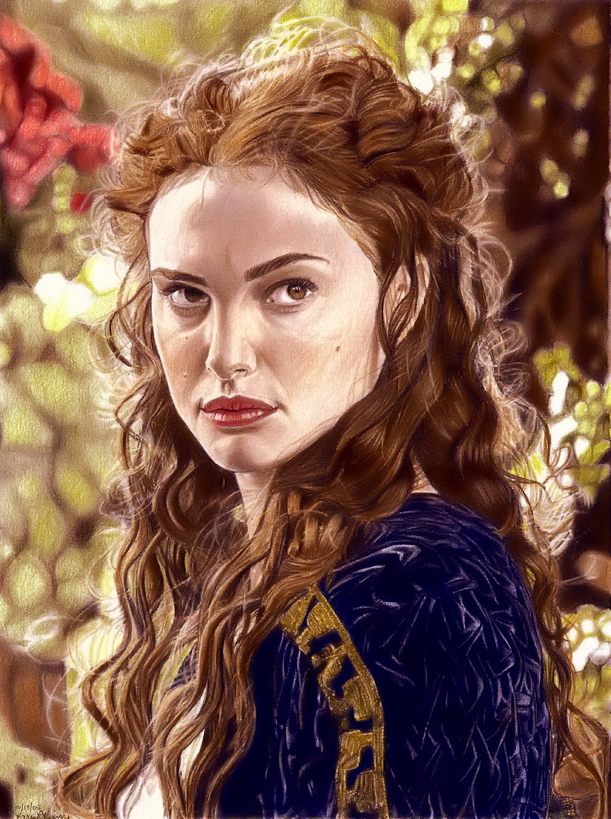 dessins et affiches star wars - Page 16 Padme_Coloring_Fun_by_khinson