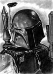 ESB Sketch Cards - Boba Fett