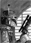 Boba Fett Sketch Card 2