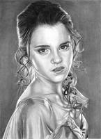 Hermione - Yule Ball by khinson