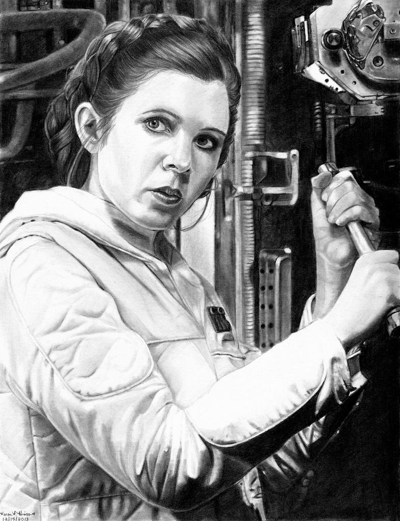 Hoth Leia 12-15-2013 by khinson
