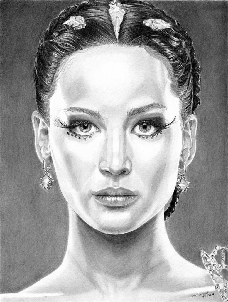 Katniss Everdeen 3-27-2014 by khinson