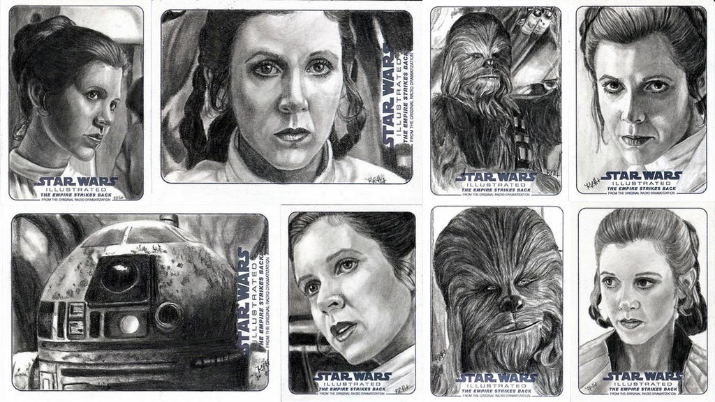 Topps ESB Illustrated 1 by khinson