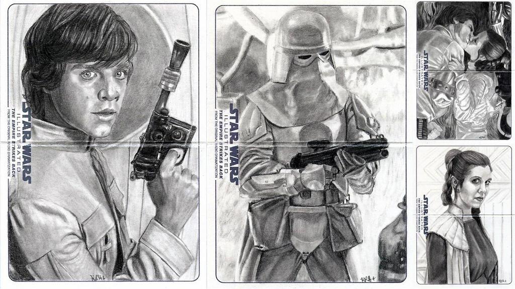 Topps ESB Illustrated 4 by khinson