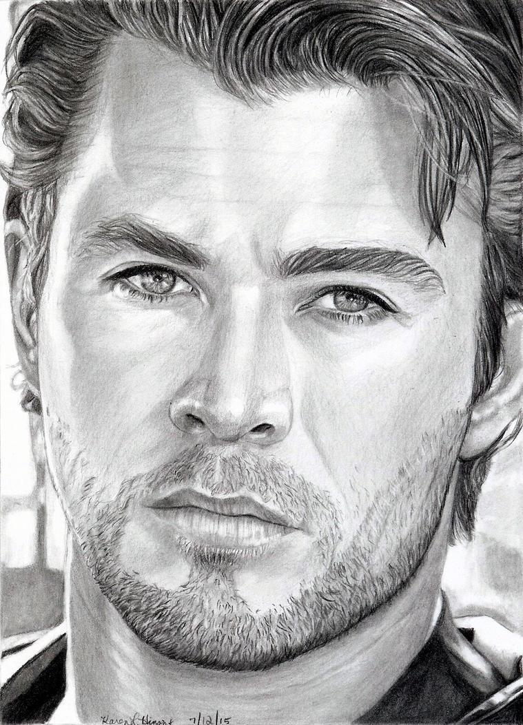 Chris Hemsworth 7-2015 by khinson