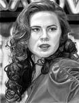 Hayley Atwell as Agent Carter 7-31-16