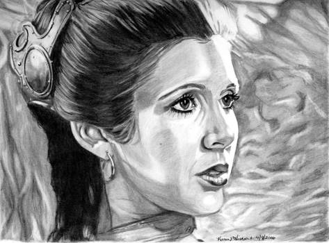 Leia at Jabba's Palace