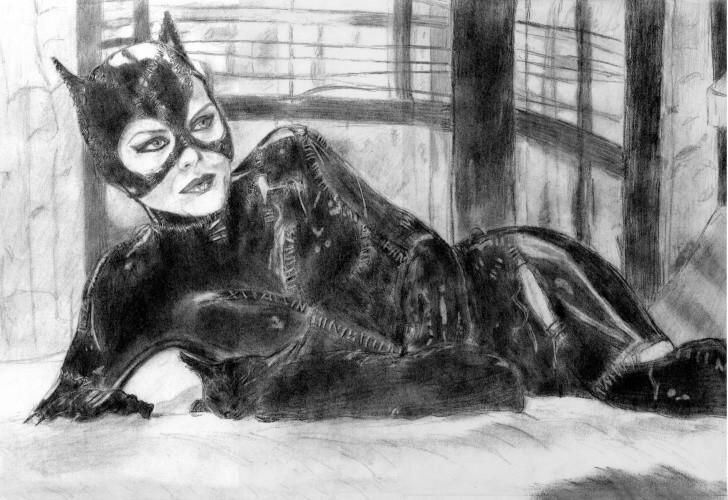 Catwoman by khinson