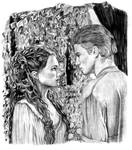 Anakin and Padme on Naboo