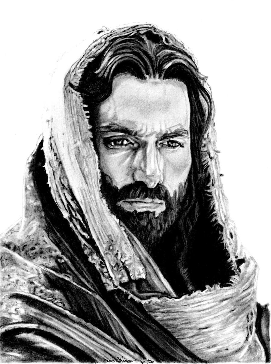 Jim Caviezel as Jesus by khinson on DeviantArt  Jim Caviezel as...