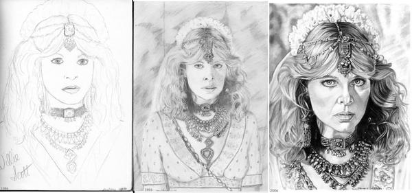 Willie Scott Through the Years by khinson