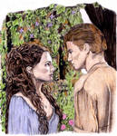 Padme and Anakin in Color