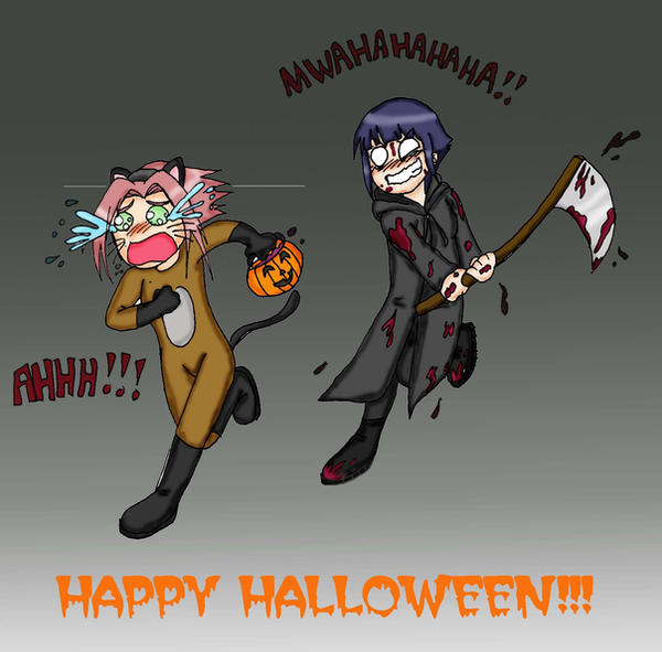 Happy Halloween by shock777