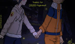 Thanks For 230,000 Pageviews by shock777