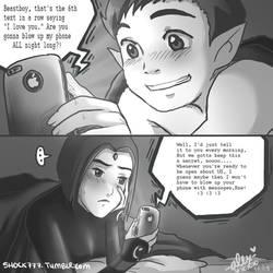 BBRae Late Night Texting