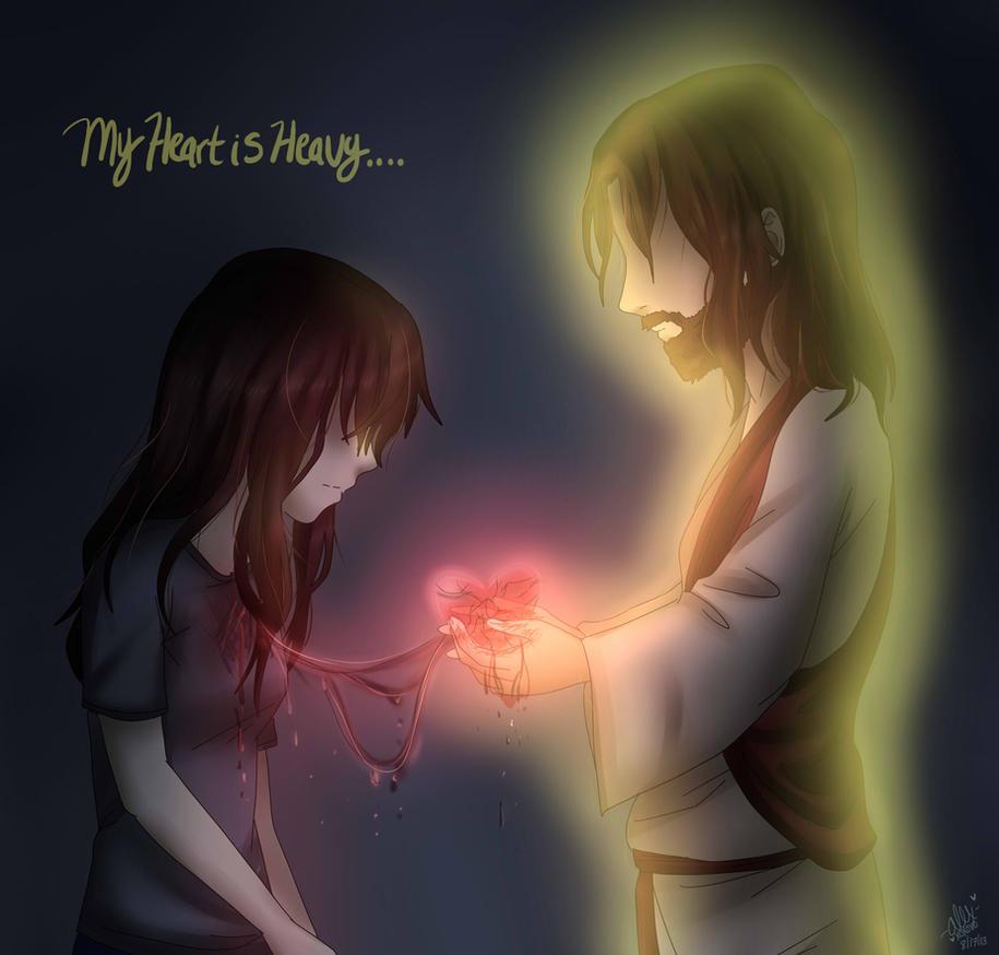 My Heart is Heavy by shock777